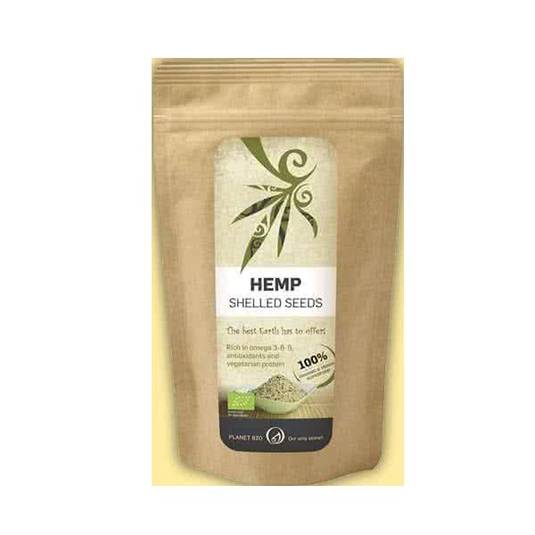 PlanetBio Hemp Shelled Seeds 150 gr.