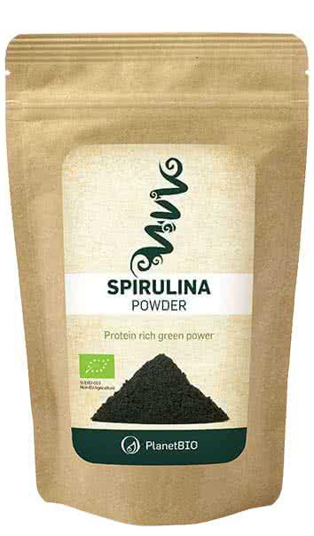 PlanetBio Spirulina powder 100 gr.