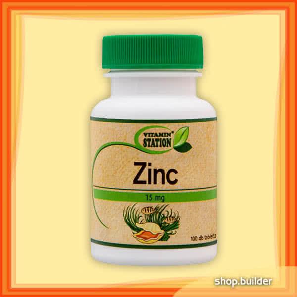 Vitamin Station Zinc 100 tab.