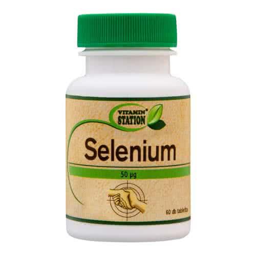Vitamin Station Selenium 60 tab.