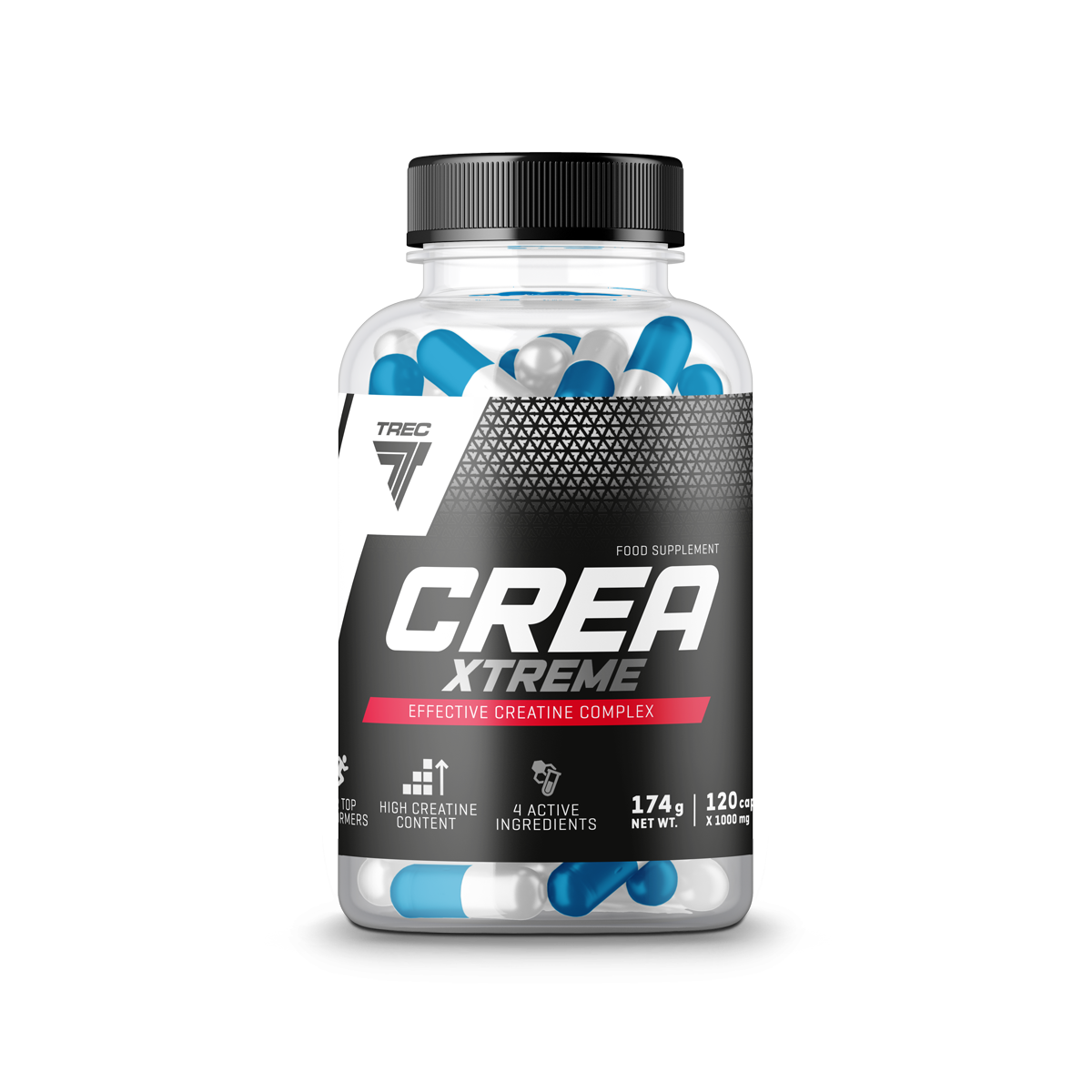 Trec Nutrition Crea Xtreme 120 kap.