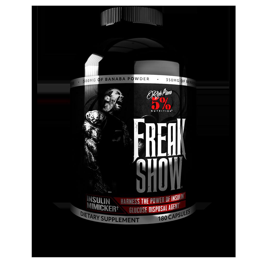 5% Nutrition Freak Show 180 kap.