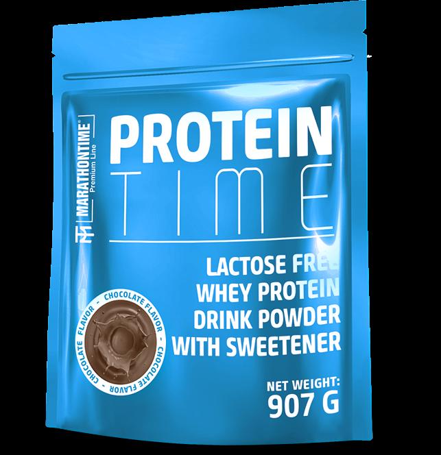 Marathontime Premium Line Protein Time Lactose Free 0,907 kg