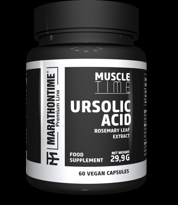 Marathontime Premium Line Ursolic Acid 60 kap.