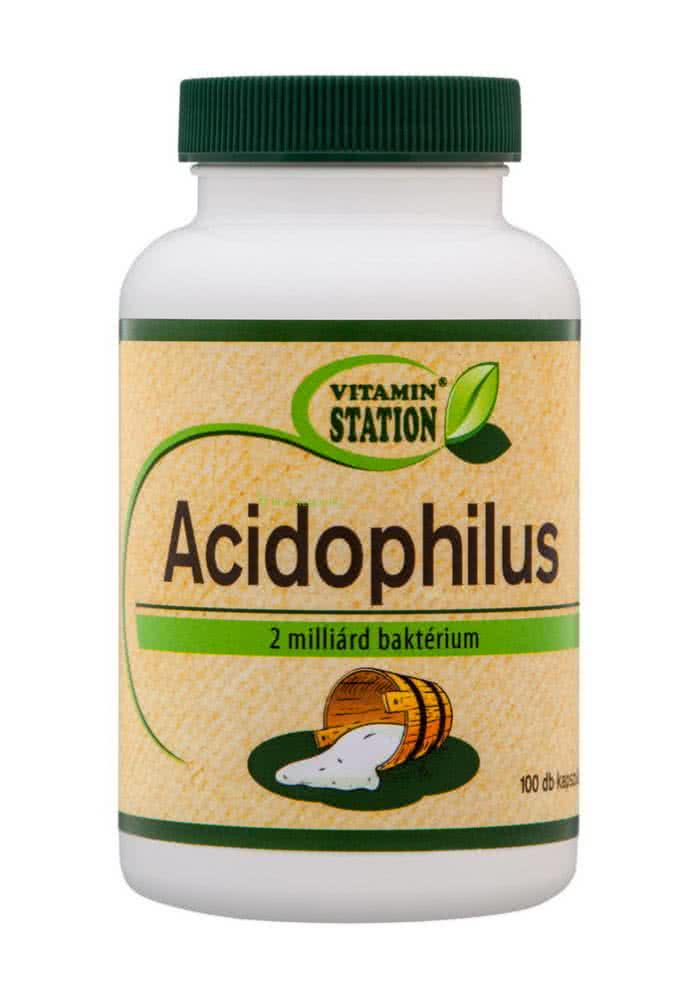 Vitamin Station Acidophilus 100 kap.