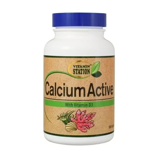 Vitamin Station Calcium Active 100 tab.