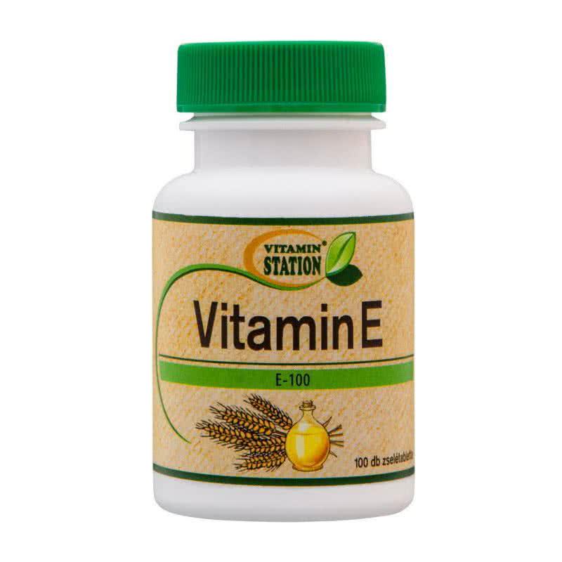 Vitamin Station Vitamin E 100 g.c.