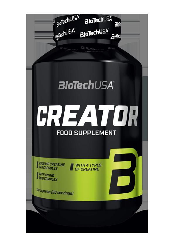 BioTech USA CreaTOR 120 kap.