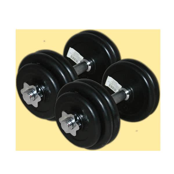 Pozostały sprzęt fitness Dumbbell set 2x14,5kg set