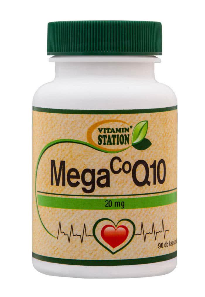 Vitamin Station Coenzyme Q10 90 kap.